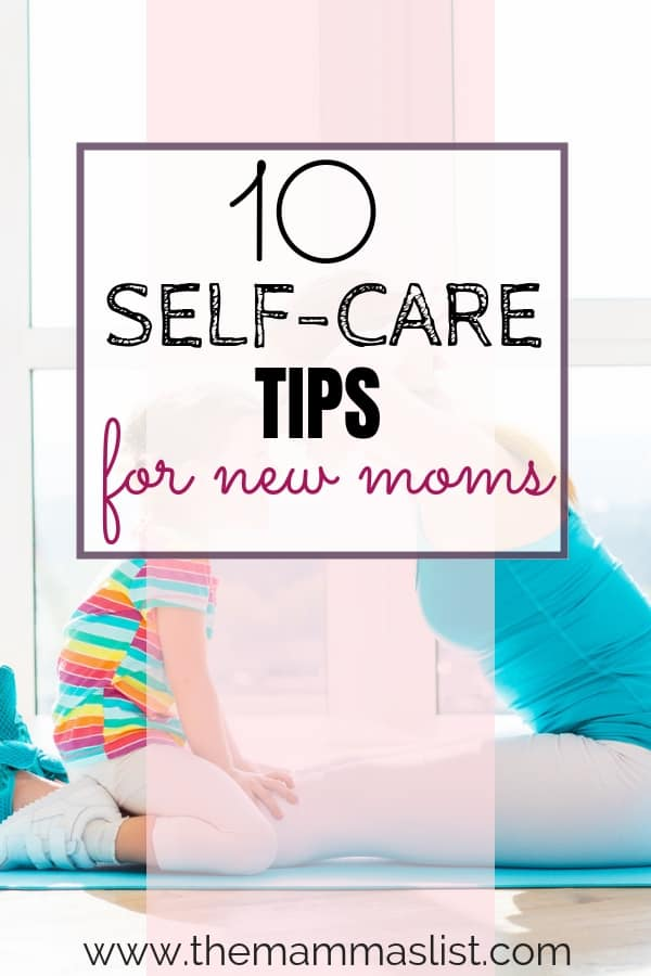 Do you sometimes feel five minutes away from a meltdown? Prioritizing self-care as a mom is really hard, but also really important. Luckily, self-care doesn't always need to mean hours away from your kids. Check out these 10 self-care tips for new moms that will help you recharge ASAP!