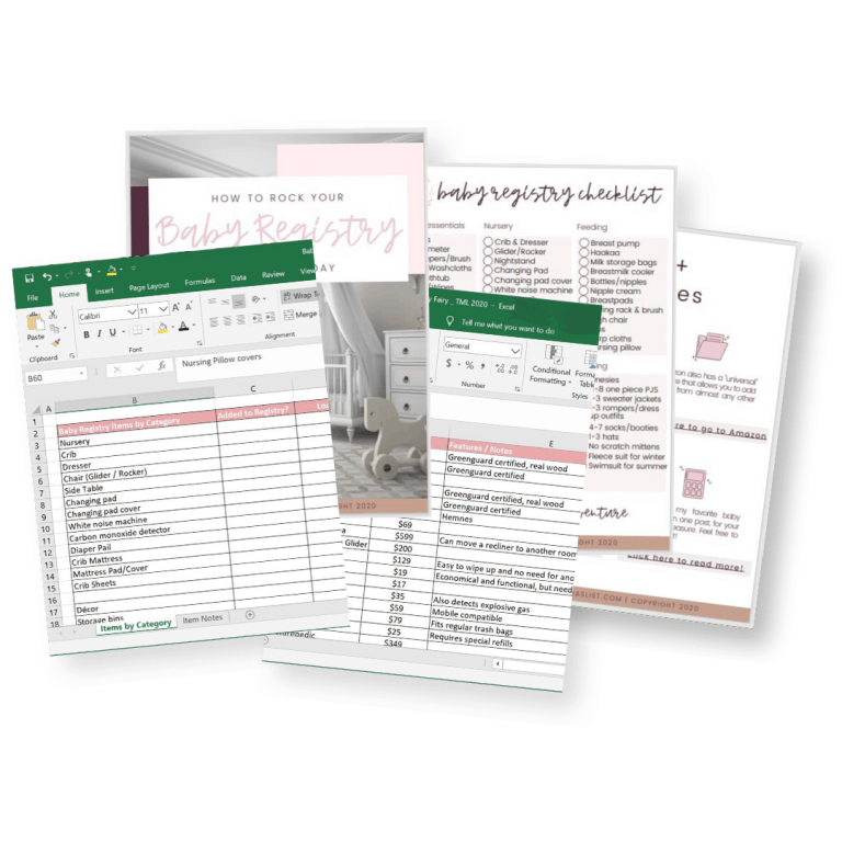 2021 Baby Registry Checklist: Your all-in-one guide to making a baby registry