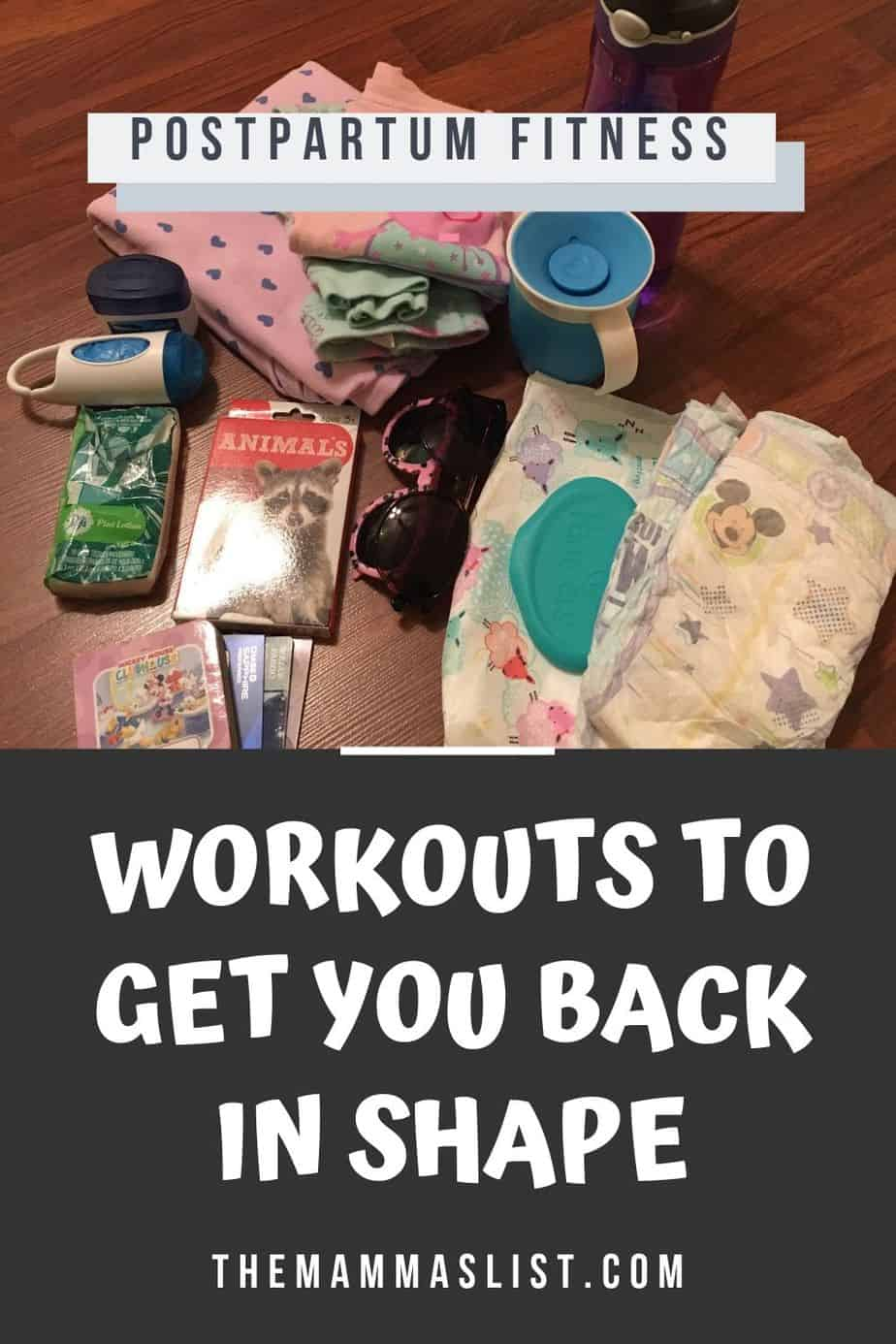 Getting back in shape after a baby is a priority for many moms, but without time to go to the gym it can be hard to fit in fitness. Check out these great videos and workout plans you can do from home, and some even incorporate your baby! Get your body back with these postpartum workout plans.