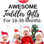 A toddler gift guide for the older toddler. Tried and true products and learning activities your toddler will love, aiding in both development and fun! If you're stumped on what to get for a birthday, the holidays or just because, check out these recommendations for the older toddler.