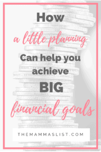 How a little planning can help you achieve big financial goals