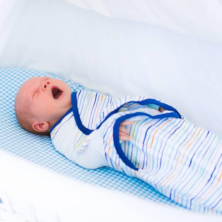 Baby swaddle and sleep sacks that promote sleep