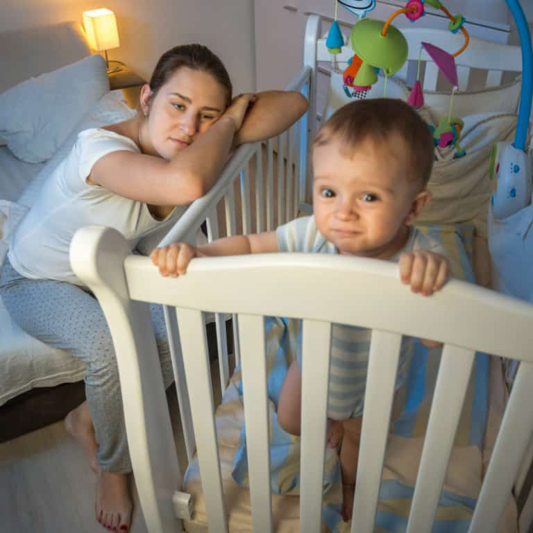Infant sleep regressions: when they hit & how to deal