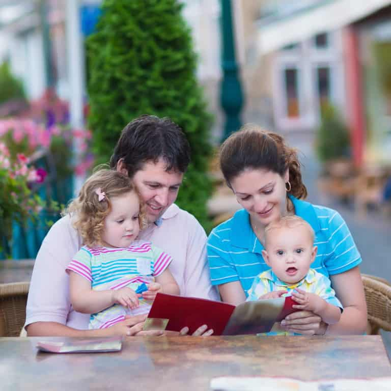 How to eat out with a baby or toddler – without losing your mind