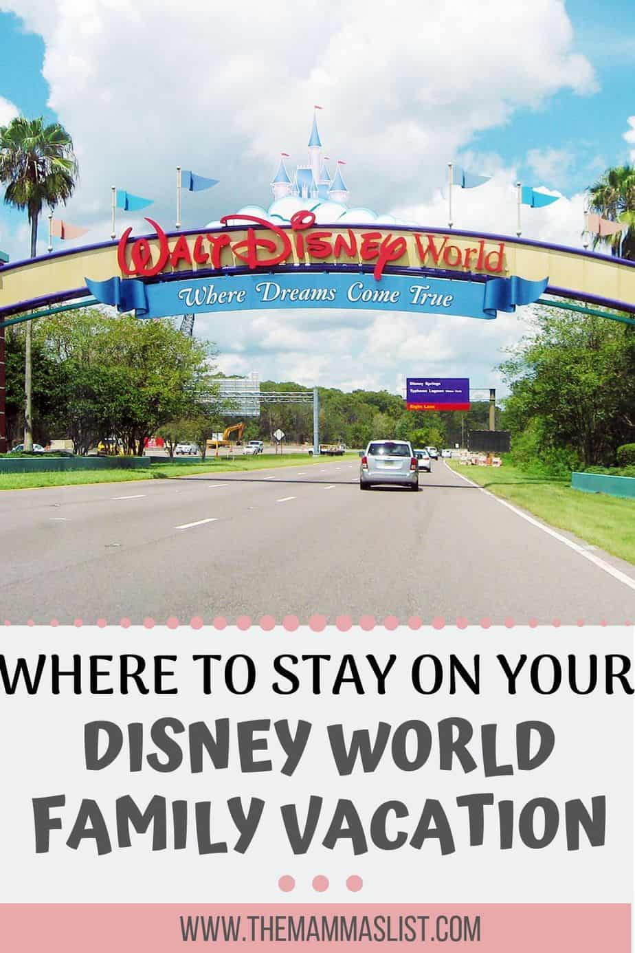 There are so many places you can stay at disney world. Based on your budget, trip goals, and how old your kids are, you have a ton of options. If you want to stay on property at Disney World or off property, there are great places to stay for every budget.
