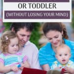 Do you feel like you can't eat out with your baby because she'll cry? Do you worry about your toddler throwing a massive tantrum if you go out to eat? If you've ever wondered how to successfully eat out with a baby or toddler - without going crazy- this is the article for you. Click through for strategies on how to eat out with kids AND keep your sanity!