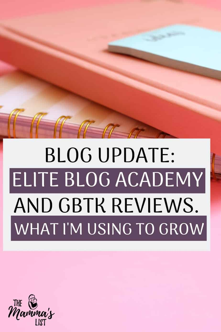 Blog Update - How I've been using the Genius Bloggers Toolkit and Elite Blog Academy to grow my blog. What's working, what's not working, and what I'm using next to drive blog growth.