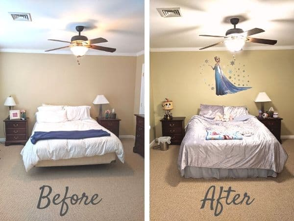 frozen toddler room ideas