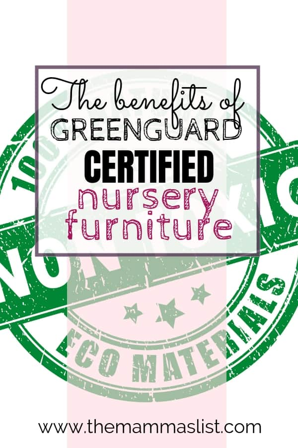 Non-toxic products become so important when you have a baby on the way. We chose Greenguard certified nursery furniture so we were sure our baby's furniture would be safe. Check out what it is, why it matters and some awesome recommendations for every budget! Greenguard furniture will allow you to rest easy knowing that everything in your baby's nursery is non-toxic, down to the crib!