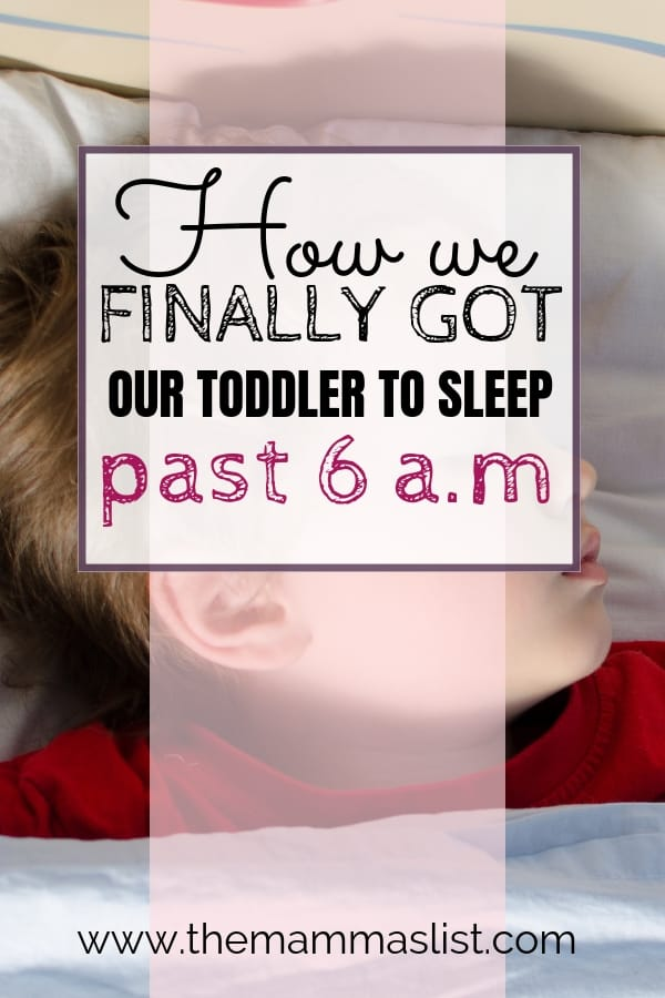 Does your toddler wake up at dawn? The ok to wake alarm clocks saved our weekends. This clock is an amazing way to get your toddlers to stay in bed. If your toddler is a super early riser, you'll want to know about this clock!