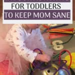 Being stuck inside is NOT fun when you have a toddler. Luckily there are a few boredom busting indoor activities you can do with your toddler that will keep you sane when you can't get out. These activities are toddler approved and will keep you having fun no matter what the weather's like outside.