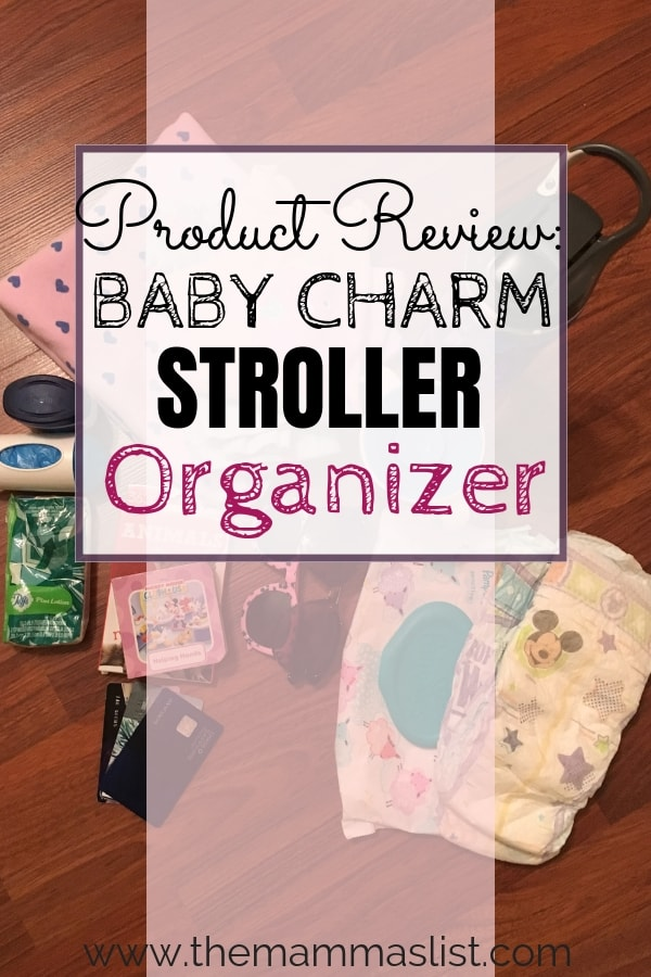 The Baby Charm Stroller Organizer allows you to bring the maximum amount with you on the go. It provides flexible space for multiple drinks, and has a mesh storage bag, and zip off changing pad and storage pouch. This stroller organizer will store everything you need in one place, and comes with a convenient to-go strap! via @Themammaslist