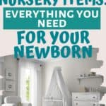Baby Registry Must-Haves for your nursery including cribs, mattresses, nursery decor and more!