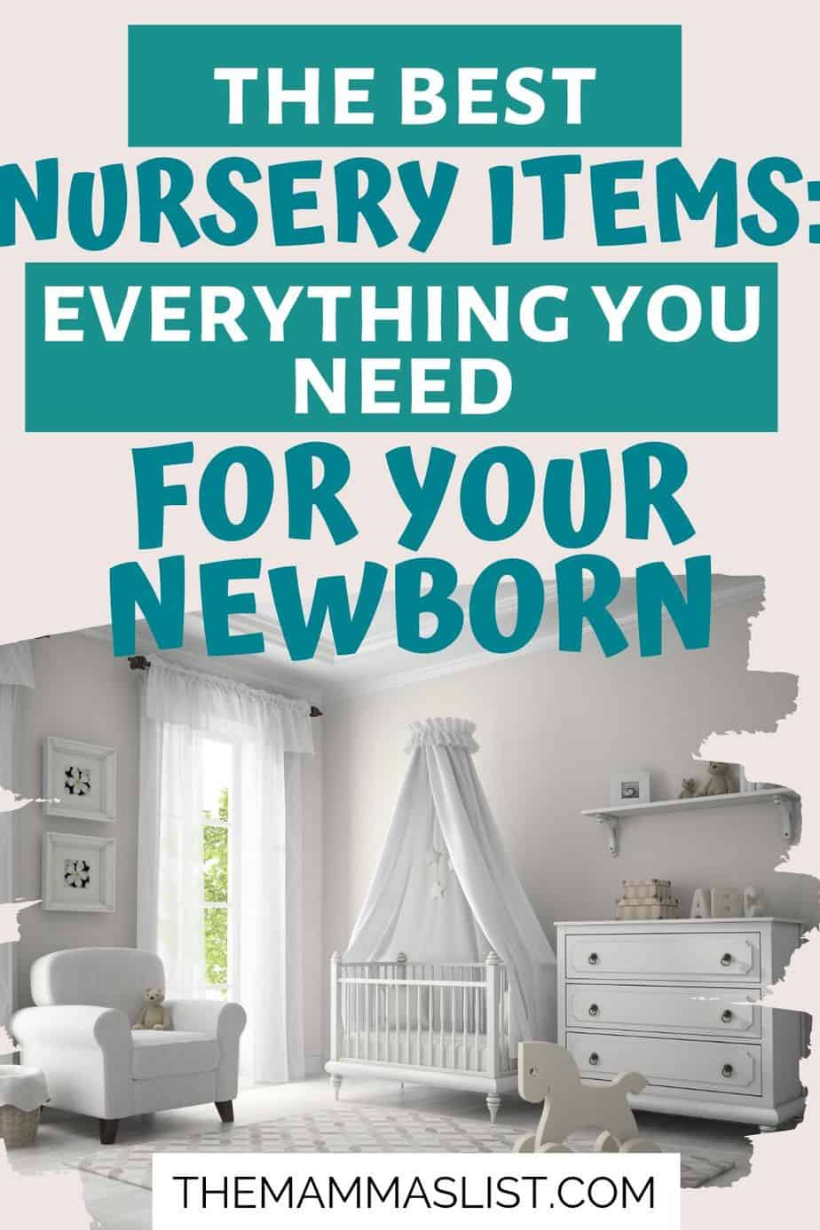 Baby Registry Guide: Must-Haves for your nursery including cribs, mattresses, nursery decor and more!
