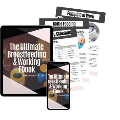 Breastfeeding & Working Ebook Mockup _ PNG Group