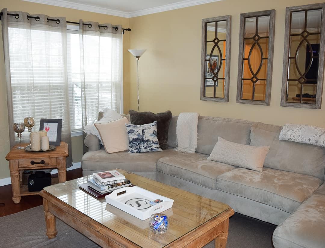 how to transform neutral home decor for seasons