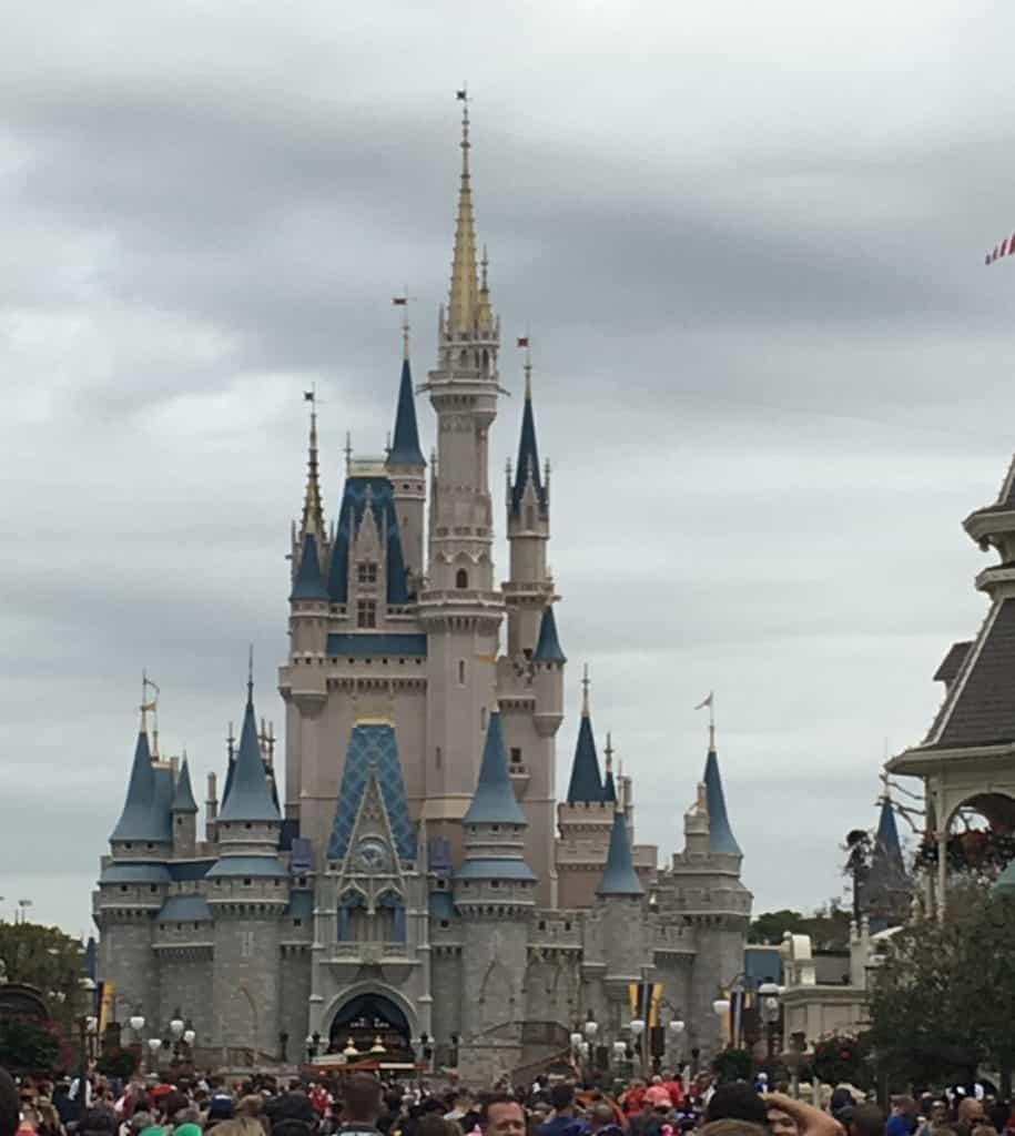 magic kingdom with a toddler