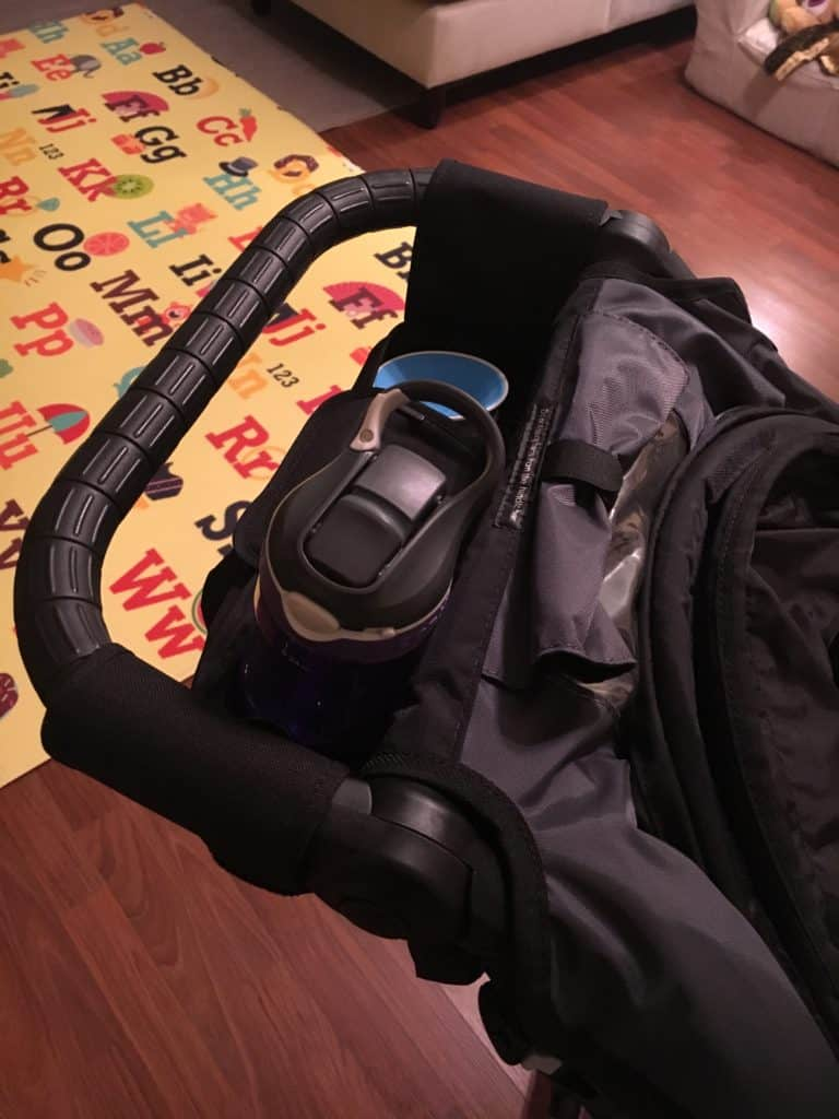 baby charm stroller organizer handles