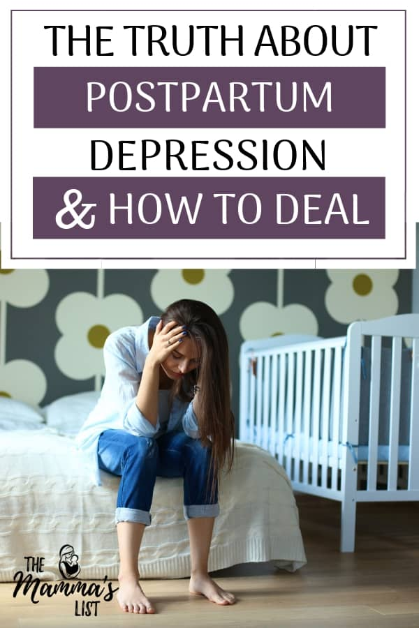 "Postpartum depression can happen to anyone and can sneak in unexpectedly after baby. If you've been experiencing the ""baby blues"" for awhile check with your doctor to ensure you're managing well. No one expects postpartum depression to strike, and treating it will drastically improve your life and the lives of your children."