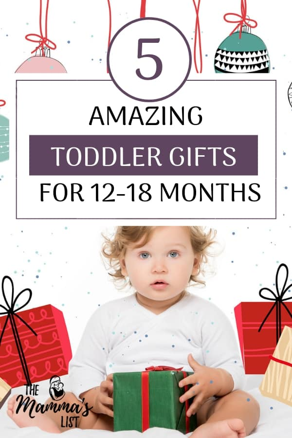 Looking for an awesome toddler gift? We never knew what to get for each age range. Check out these top tips for toddler gifts for kiddos from 12-18 months. They're all toddler tested and mom approved to last more than a week!