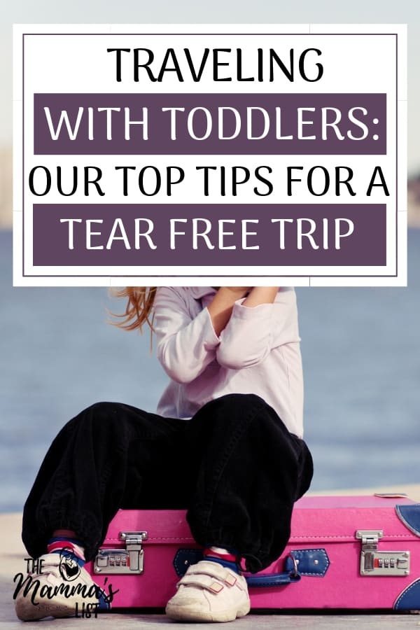 Traveling with toddlers isn't for the faint of heart. However, with a little planning you can prep for a tear and tantrum free trip. These travel tips will make your toddler's next trip more fun - and less stressful!