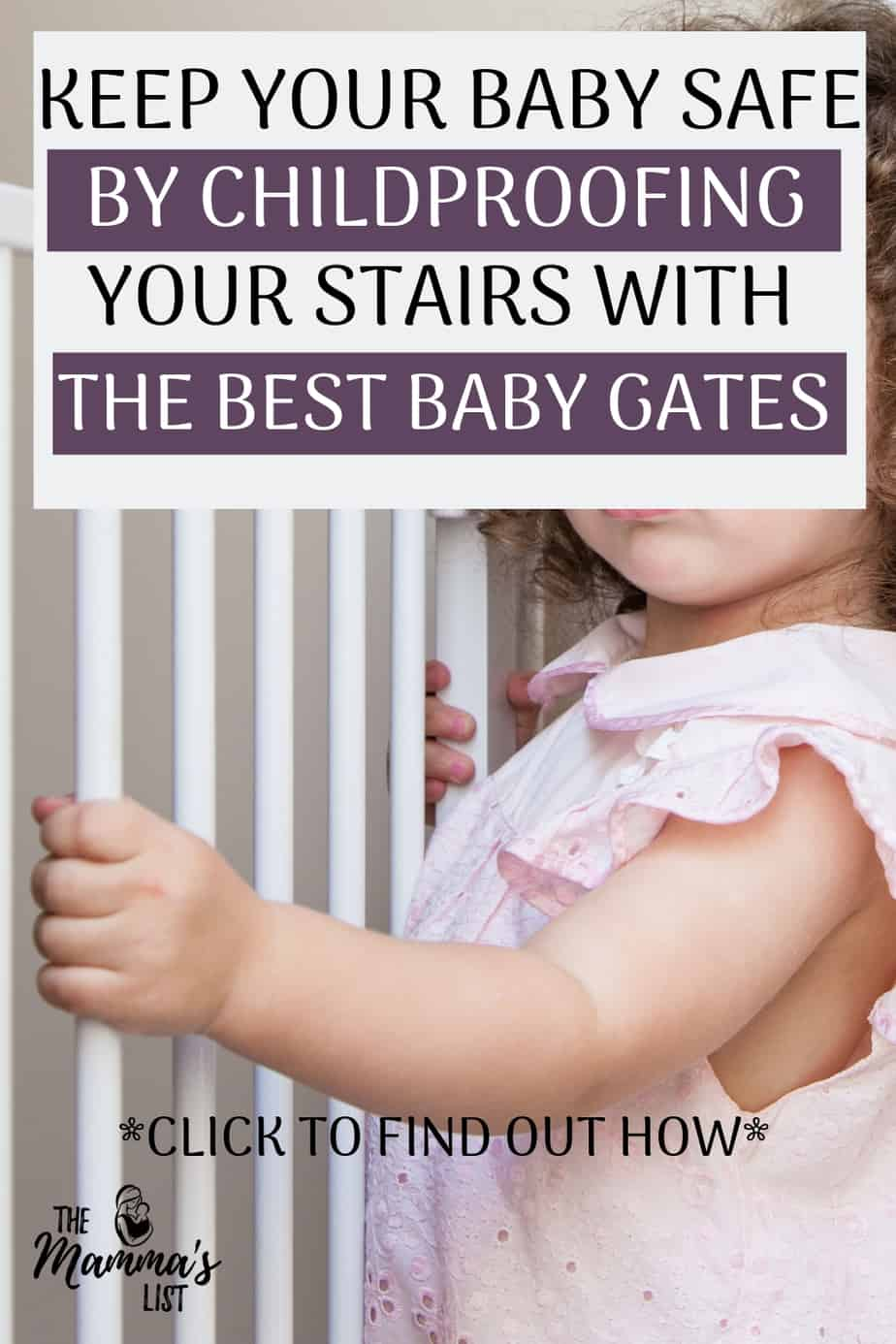 Childproofing is tricky, and the top of the stairs are a critical space to get right. Check out all the baby gate options to keep your stairway and infants safe. Installing the proper baby gate will go a long way to ensuring your baby stays safe the first year, no matter how many flights of stairs you have!