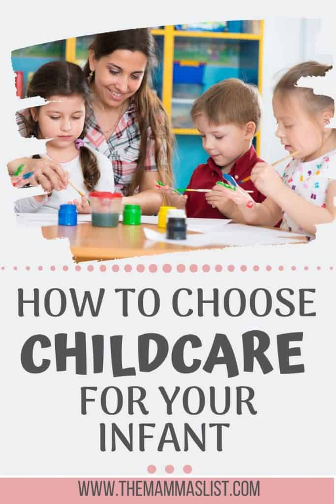 Choosing childcare is one of the most stressful things a new mom faces in the early months. Check out five different childcare options and decide how to find the best childcare for your family. Learn tips to choosing a childcare provider or in-home caregiver or nanny. Determine what fits your budget and is best for your family.