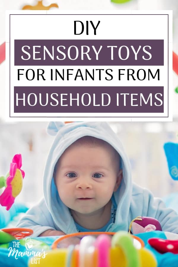 Diy Baby Toys Sensory Stimulation With Items You Already Own