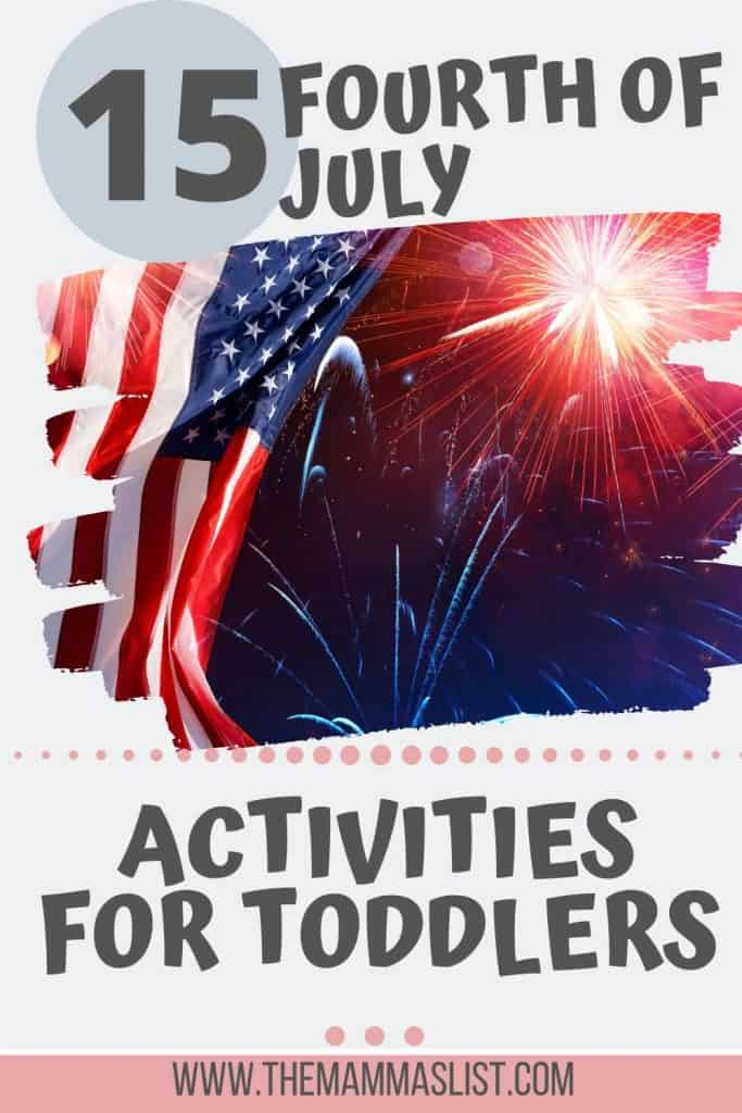 Seasonal toddler activities make days inside and developmental milestones even more fun. Try these 15 fourth of july toddler activities that will keep your toddler entertained and having fun for hours. This mix of fourth of july crafts and fourth of july activities for both toddlers and preschoolers is sure to please many different ages and phases.