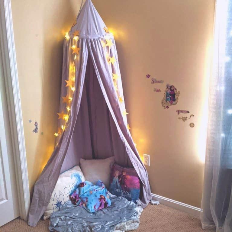Toddler Bedroom Makeover: Frozen Toddler Room Ideas