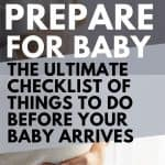 how to get ready for a baby