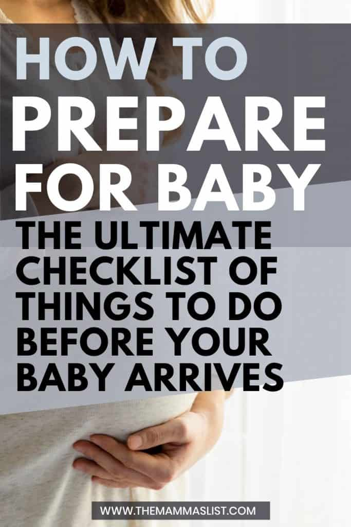 how to prepare for a baby