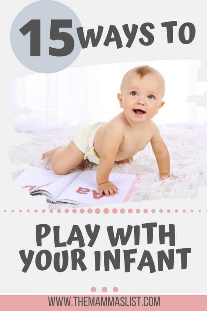 Sitting at home with a newborn all day is an exhausting cycle of eat, diaper, play, sleep, repeat. Finding awesome infant activities is critical for baby's development and for keeping yourself sane while home with an infant. Check out these awesome infant activities you can do at home with a newborn. Find out how to play with your baby when you're stuck inside all day!