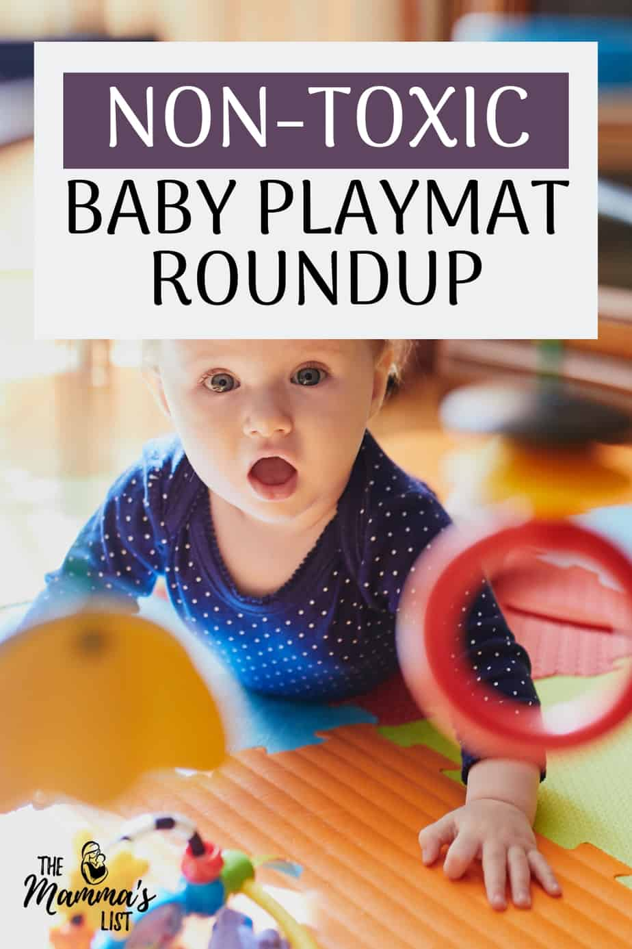 Non-toxic baby playmat roundup and review of the babycare baby playmat. Keep your baby and toddlers healthy with a non-toxic baby playmat. Click through for a roundup of all the non-toxic baby playmats I could find, and our recommended choice!