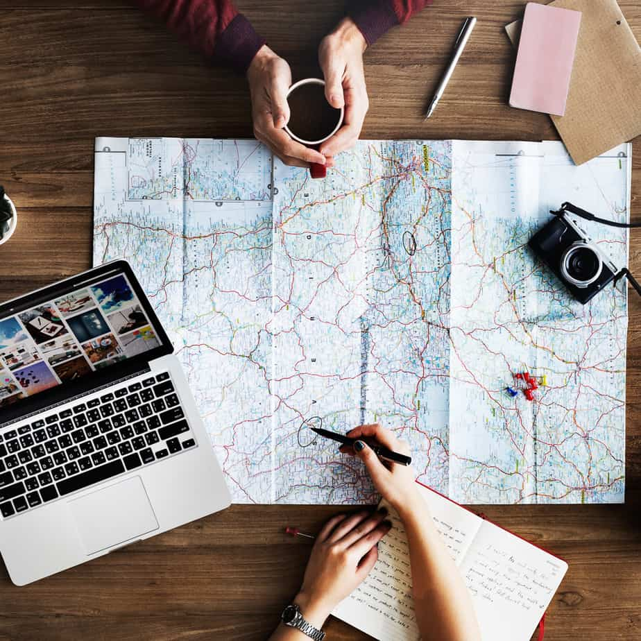 annual vacation budget planning and travel hacking