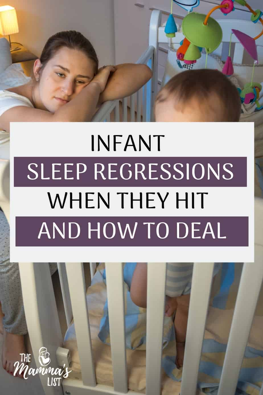 Infant sleep regressions are a terrifying thought for sleep-deprived parents. Check out what happens, when you can expect them, and how to deal. The phases of infant sleep are tricky, and sleep regressions are no joke. Find out the best strategies to cope and finally get more sleep.
