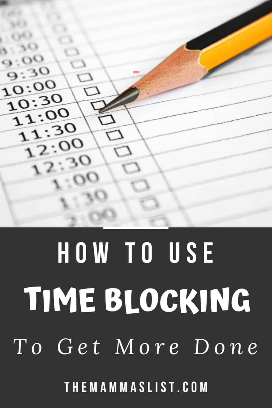 How to implement a time blocking strategy that helps you prioritize, get more done, and schedule your time more efficiently than ever before.
